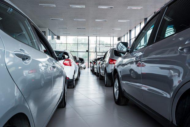 magasin de voiture
