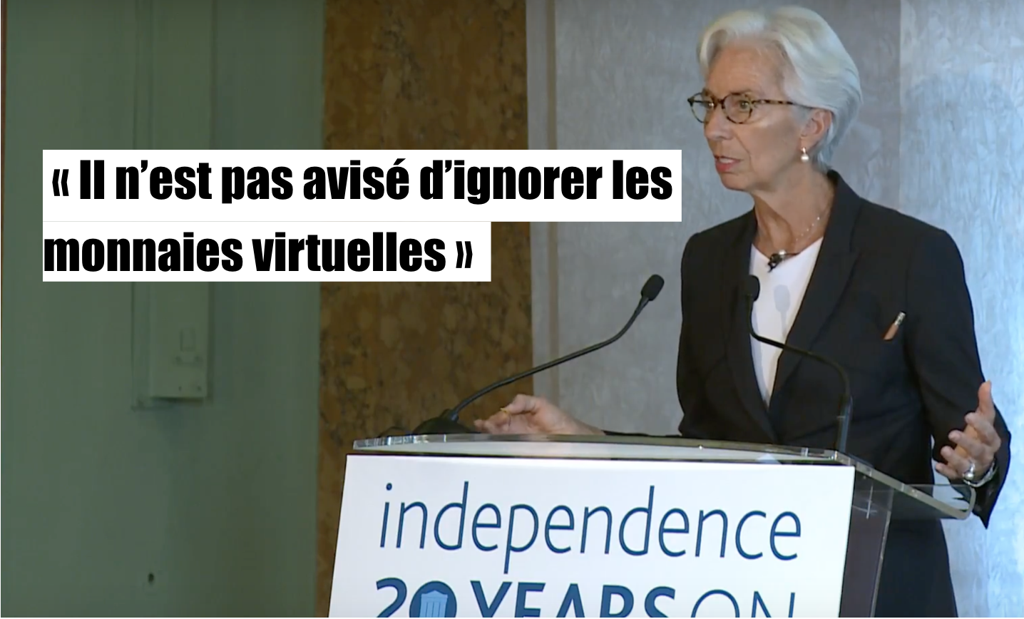 L'avenir des monnaies nationales menacé : la déclaration fracassante de Christine Lagarde