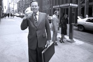 First phone in 1973 in New York